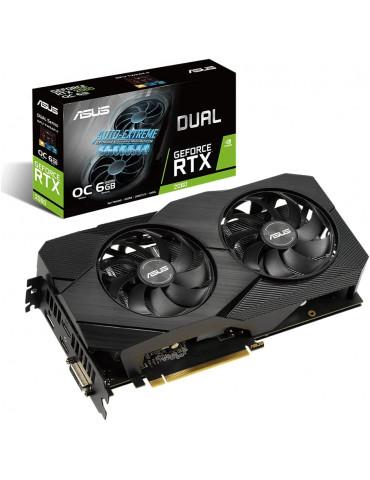 ASUS Scheda Video Dual GeForce RTX 2060 OC Edition EVO 6GB GDDR6