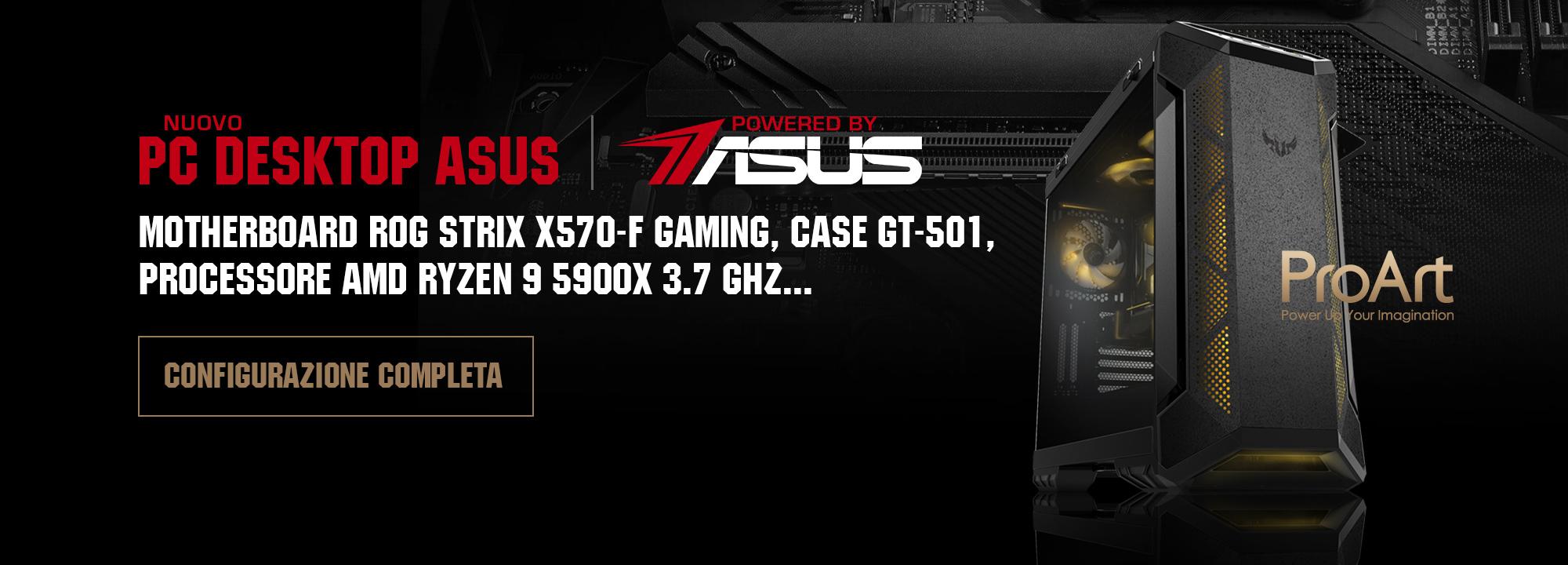 PC Gaming PBA ASUS GT501